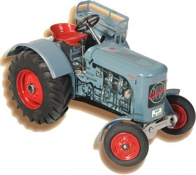 KOVAP Traktor EICHER ED215, hračka, 0335