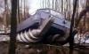 RC Obojživelník Amphibious Aqua Stunt Car, 2,4GHz červený