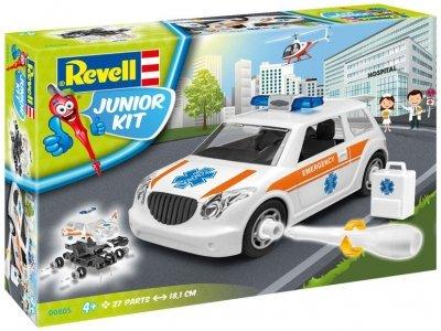 Plastový model na skladanie Revell Rescue Car Junior Kit 1/20, 00805