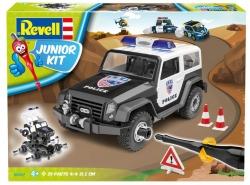 Plastový model na skladanie Police Offroad Vehicle Junior Kit 1/20, 00807