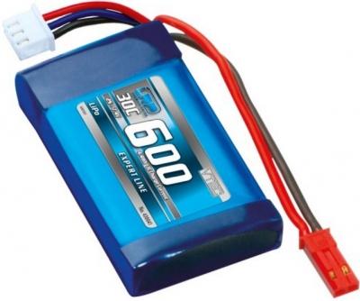 Akumulator LiPo 7.4V 600mAh LRP VTEC Expert Line