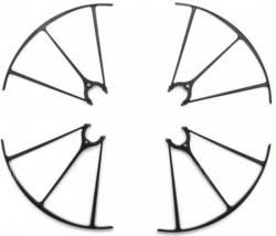 Náhradné Diely Syma X5HW, X5HC-04B, chránič rotorových listov 4ks, čierny