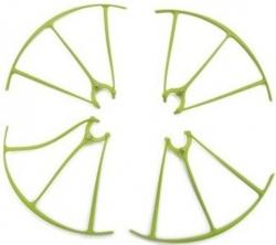 Náhradné Diely Syma X5HW, X5HC-04A, chránič rotorových listov 4ks, zeleny