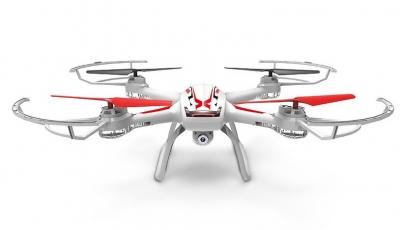 Dron Syma X54HC HD kamera 2.4GHz, funkcia vznášania, biela