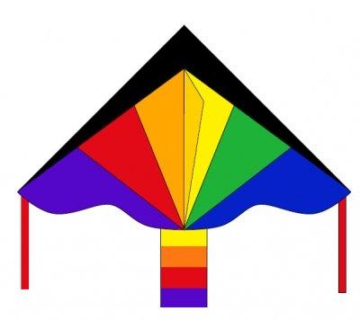 Šarkan Invento, Simple Flyer Rainbow R2F, jednolanový