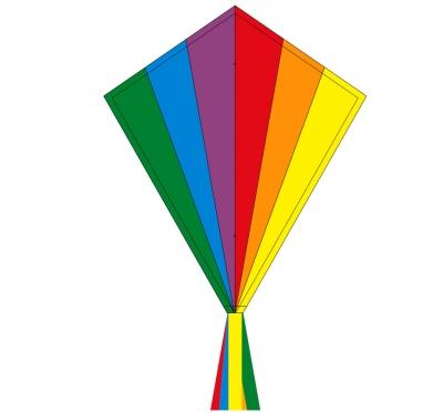 Šarkan Invento, Eddy Rainbow R2F, jednolanový 102115