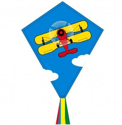 Šarkan Invento, Eddy Biplane R2F, jednolanový