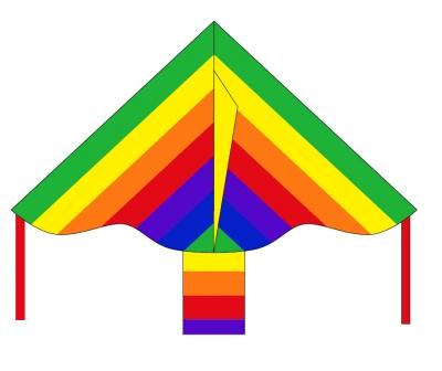 Šarkan Invento, Simple Flyer Rainbow R2F, jednolanový 102130