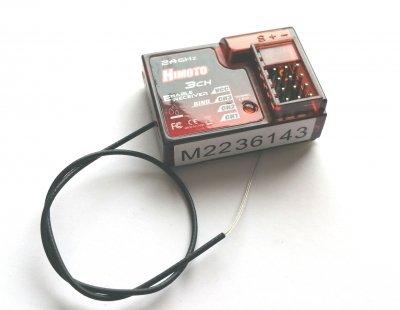 Náhradné Diely HIMOTO HMMT-300RX, MT-300RX vodeodolný prijímač