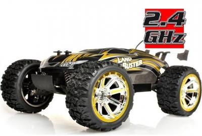 RC hračka na diaľkové ovládanie NQD Land Buster 1:12 Monster Truck žltý 2.4GHz