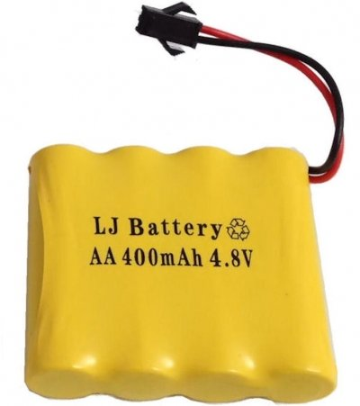 Náhradná batéria, Akumulator 400mAh 4,8V Ni-Cd