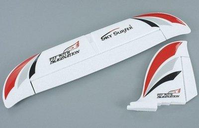 Náhradné Diely Sky Surfer 1400, chvostová smerovka a vyškovka
