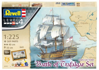Plastový model Revell Battle of Trafalgar Gift set 1/225, 05767