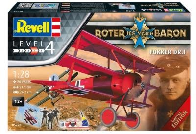 Plastový model Revell 125 Years Red Baron ModelSet 1/28, 05778