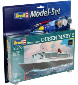 Plastový model Revell Queen Mary 2 modelset 1/1200, 65808