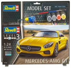 Plastový model Revell Mercedes AMG GT Model Set 1/24, 67028