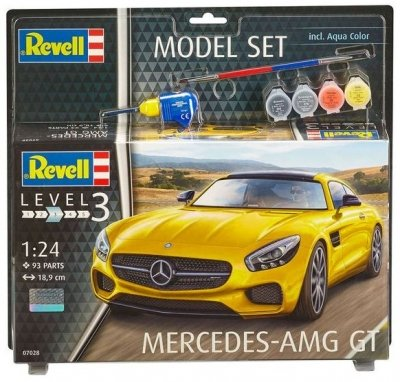 Plastový model Revell Mercedes AMG GT Model Set 1/24, 67028