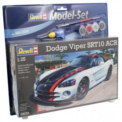 Plastový model Revell Dodge Viper SRT10 Model Set 1/25, 67079