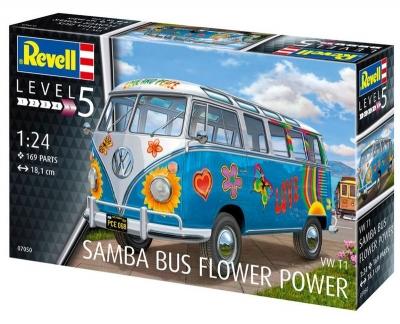 Plastový model Revell VW T1 Samba Bus