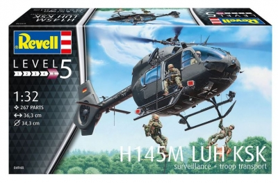 Plastikový model Revell H145M LUH