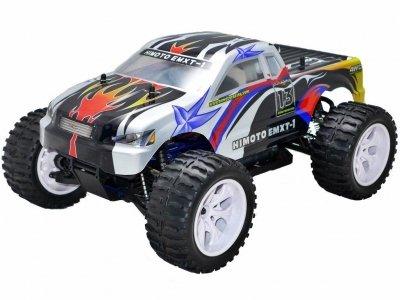 HiMOTO Monster Truck EMXT-1 1:10 elektro RTR set 2,4GHz čierno modré