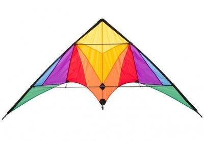 Šarkan Invento, Lenkdrachen Trigger Rainbow R2F, dvojlanový pilotovateľný