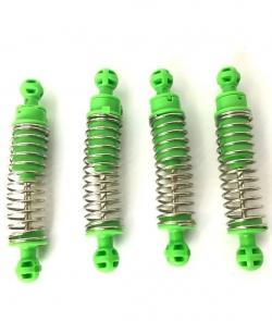Náhradné Diely Crawler King NQD, Tlmiče zelené, sada 4ks