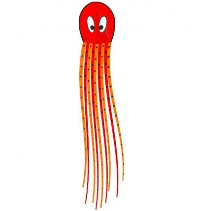 Šarkan Invento, Floating Octopus Red, R2F, jednolanový, 102344