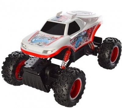 RC hračka na ovládanie NQD Rock Crawler 4WD, 1:12 bielý