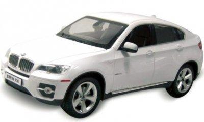 RC hračka na ovládanie BMW X6 RASTAR 1:14 RTR bielé