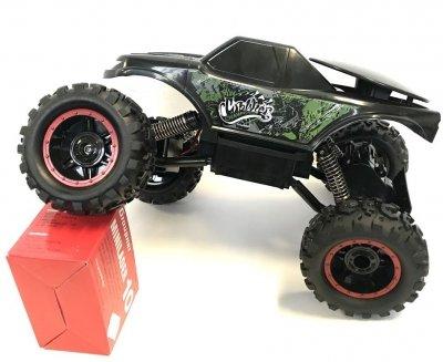 RC hračka na ovládanie NQD Rock Crawler 4WD, 1:12 zeleno-čierný