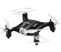RC dron Syma X21, 2.4GHz, auto-start, funkcia zavesenia, čierny