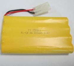 Batéria NiCd 800mAh 9.6V Tamiya NQD Land Buster