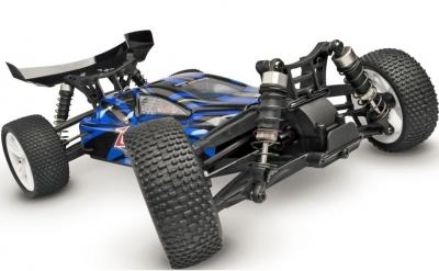 RC auto HiMoto Tanto E10XB 2,4GHz, 1:10 modré
