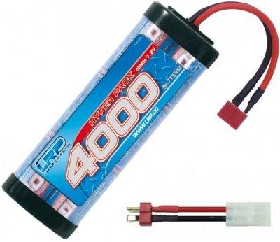 LRP - Hyper pack 4000 mAh 7.2V NiMH batéria, T-Dean + adapter T-Dean-Tamiya