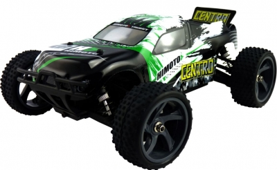 RC auto Himoto Truggy CENTRO 1/18 4x4 zeleno-čierné