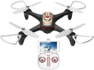 RC dron Syma X15W, FPV WiFi kamera, 2.4GHz, auto-start, funkcia zavesenia, čierný