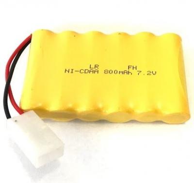 Náhradná batéria GPX Extreme 800mAh 7,2V NiCd TAMIYA