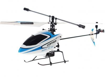 RC vrtuľník na ovládanie Wltoys V911 modrý