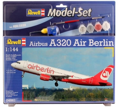 Plastový model Revell Airbus A320 Model Set 1/144, 64861