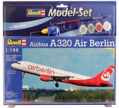 Plastový model Revell Airbus A320 Model Set 1/144, 64861