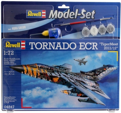 Plastový model Revell Tornado ECR Tigermeet 2011 Model Set 1/72, 64847