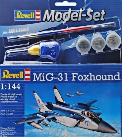 Plastový model Revell MiG-31 Foxhound Model Set 1/144, 64086