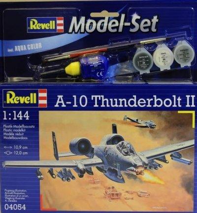 Plastový model Revell A-10 Thunderbolt II ModelSet 1/144, 64054