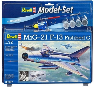 Plastový model Revell MiG-21 F-13 Fishbed C Model Set 1/72, 63967