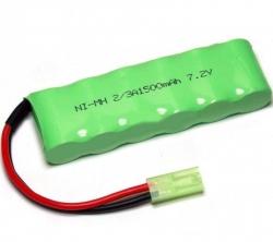 Batéria HSP/28408 1500mAh 7,2V NiMH , 28408, Mini Tamiya