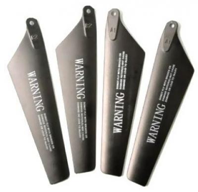 Náhradné Diely Syma S108G-03A, S102G, S107G, S109G rotorové listy čierne