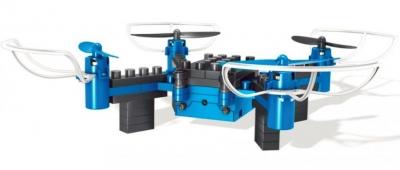 Stavebnica na ovládanie s kamerou Drone 8818, 4,5CH 2,4GHz, modrá