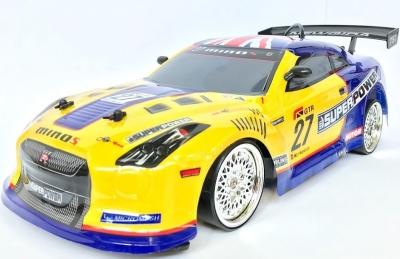 RC auto NQD 4WD Drift Car 4WD11 1:10, 4x4, žlto modré