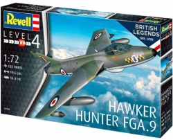 Plastový model Hawker Hunter FGA.9, Revell 03908